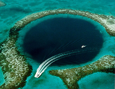 Diving the Great Blue Hole, Belize