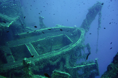 Diving the Zenobia in Cyprus