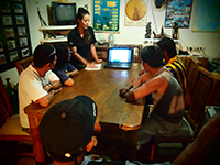 Green Fins Coordinator delivers annual environmental training to dive staff - Photograph by Chloe Hunt The Reef-World Foundation.jpg