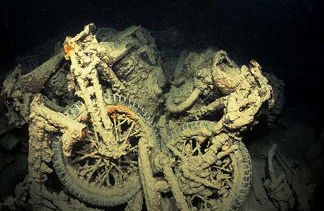 Wreck diving Red Sea: Thistlegorm
