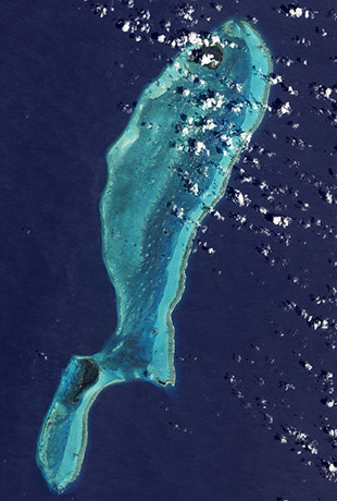 Lighthouse Reef with Blue Hole, Belize
