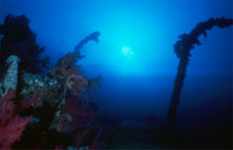Photo of the Aidi II wreck on Big Brother, Red Sea
