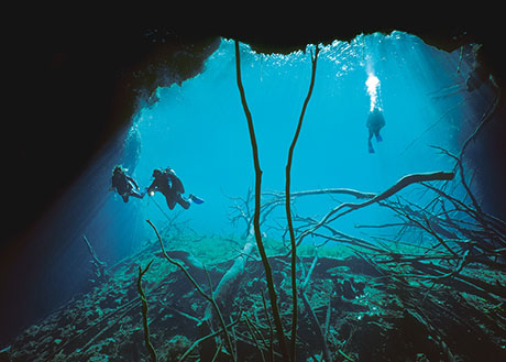 Mexico Carwash Cenote