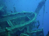 The wreck of the Zenobia