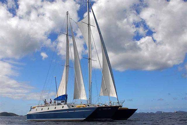 All Star Cuan Law liveaboard, British Virgin Islands