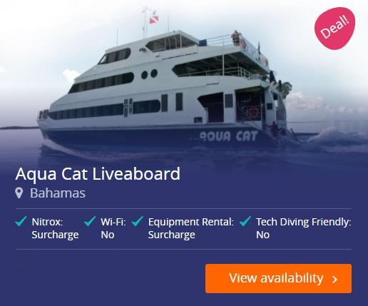 Aqua Cat Liveaboard in the Bahamas