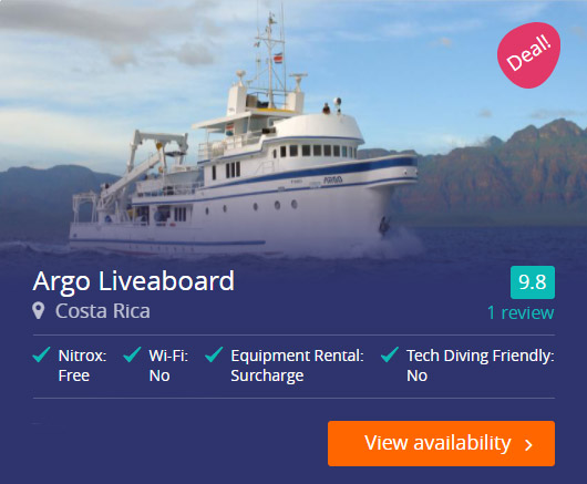Argo Liveaboard in the Cocos Islands