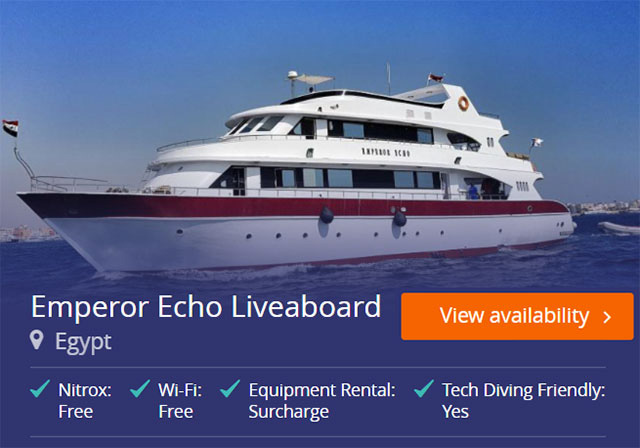 Emperor Echo liveaboard in the Red Sea
