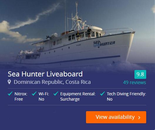 Sea Hunter Liveaboard in the Cocos Islands