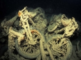 Motorbikes on the Thistlegorm