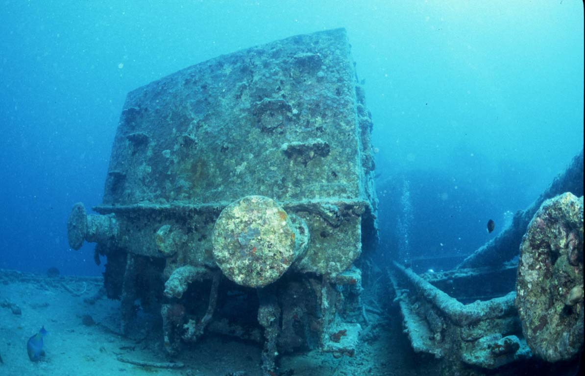 Thistlegorm wreck in the Red Sea by Tim Nicholson, SCUBA Travel