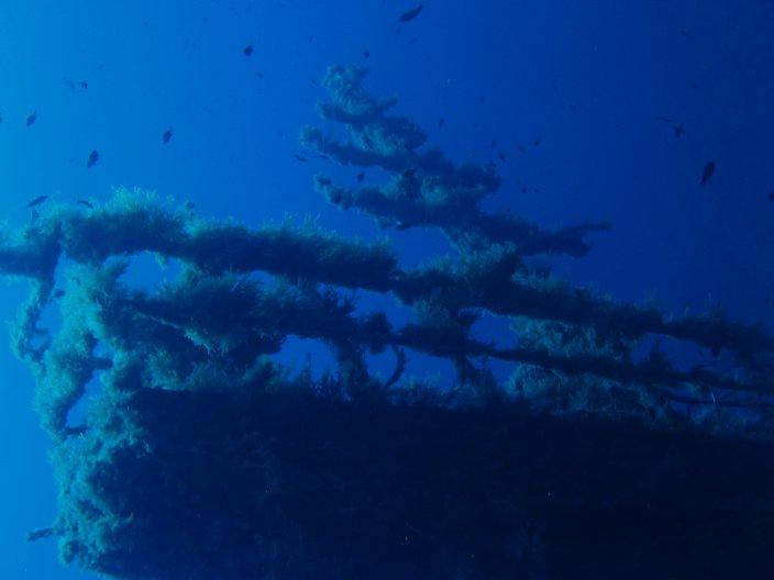 wreck, Ustica, Italy