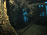 The Maldives, wreck interior