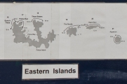 Eastern Daymaniyat Islands Map