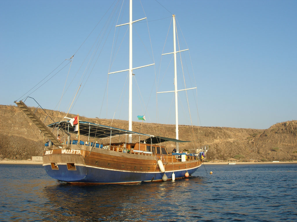 Diving from Djibouti live-aboard