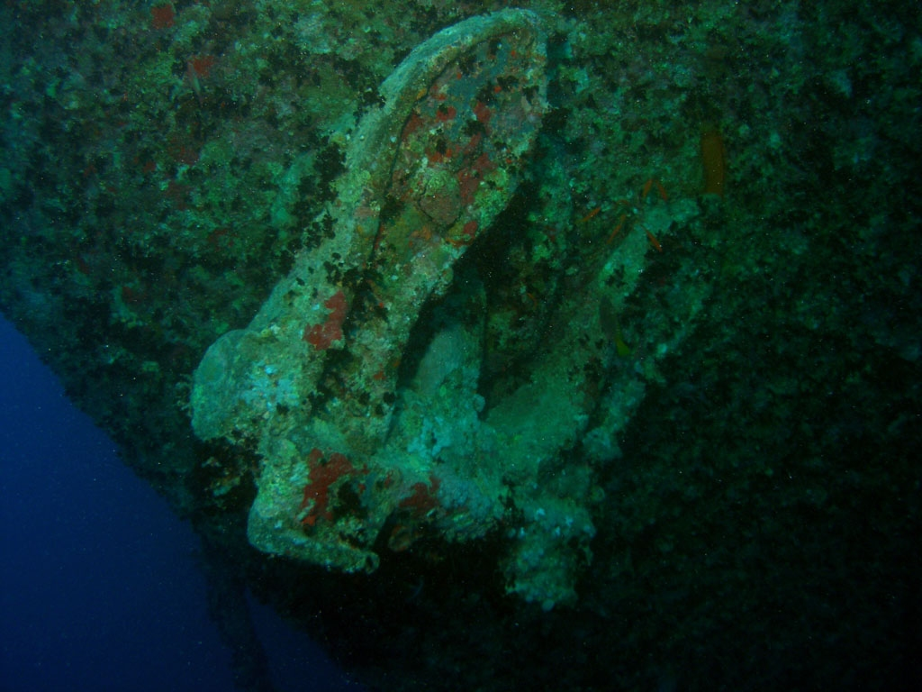 Anchor on theThistlegorm