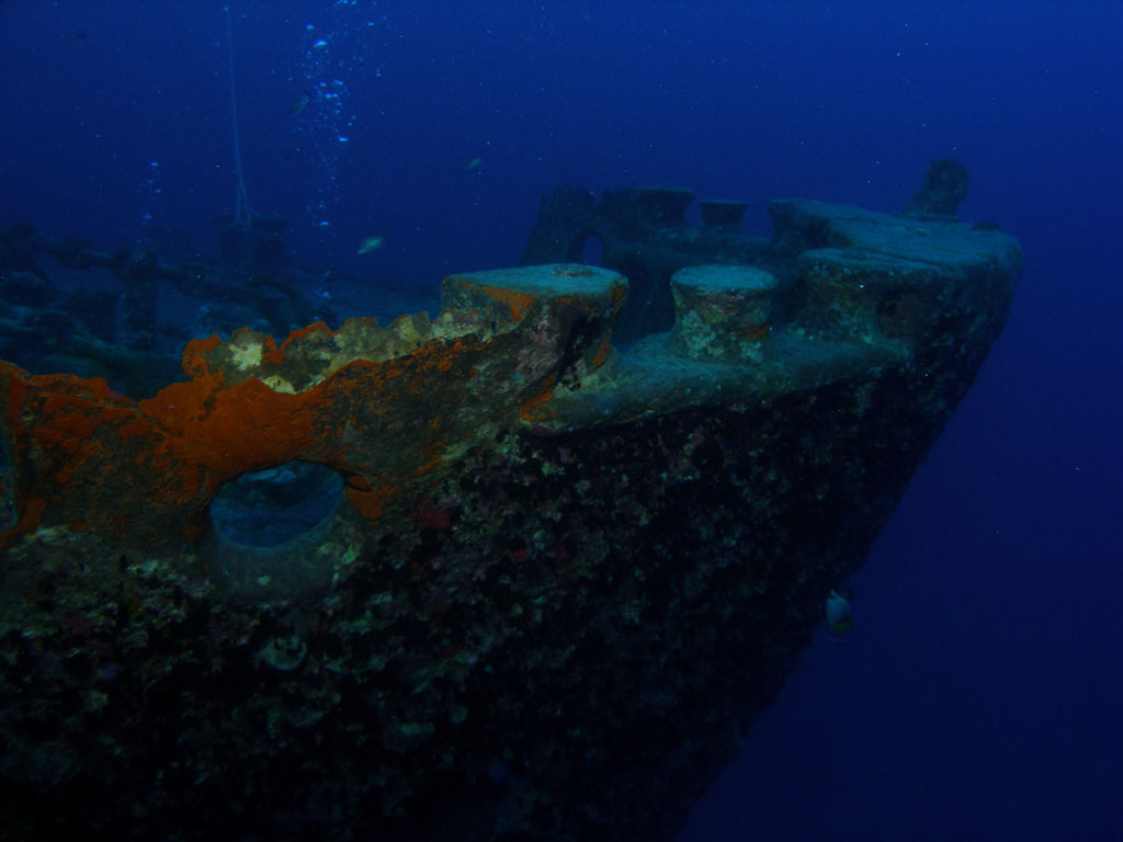 Bow of theThistlegorm