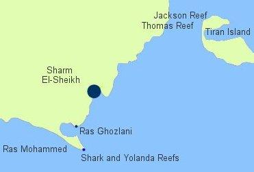 Diving sharm el sheikh scuba travel diving sharm el sheikh red sea map gumiabroncs Choice Image